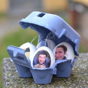 Fotoeier – Voilà, die fertigen Eier