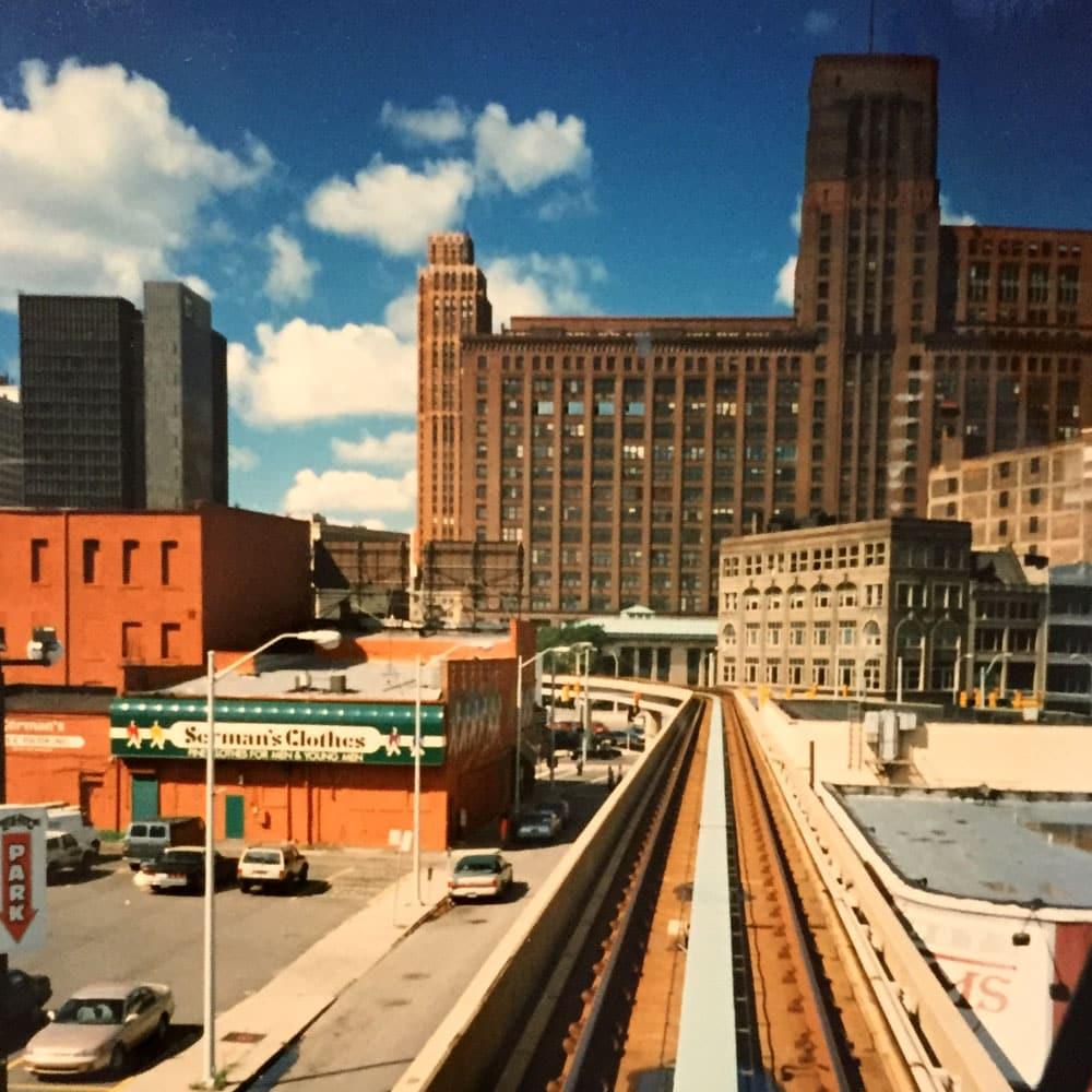 Detroit Peoplemover im Sommer 1997