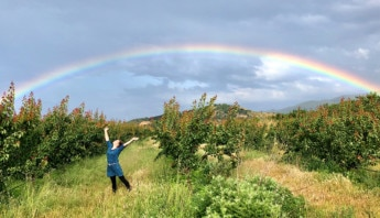 Elli unterm Regenbogen